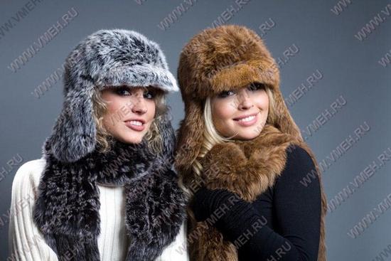 Описание: меховая шапка в интернет-магазине СПб.