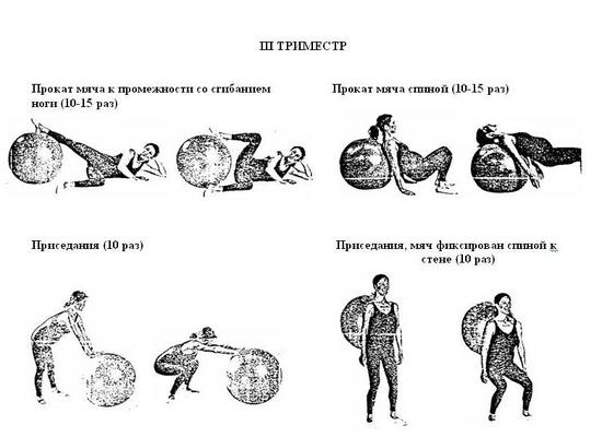 Гимнастика для беременных 2 триместр дома 30