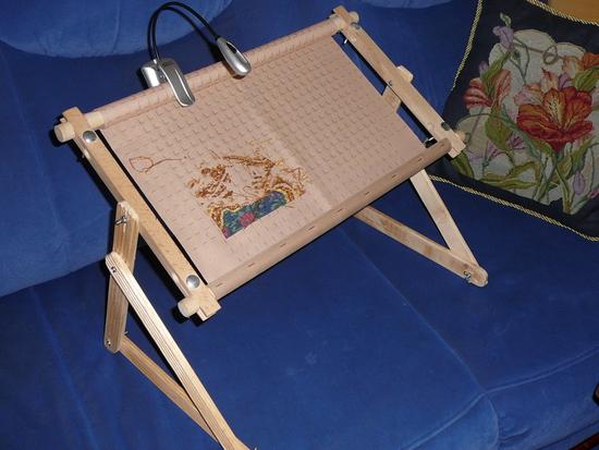 Сделать рамку для вышивания своими руками