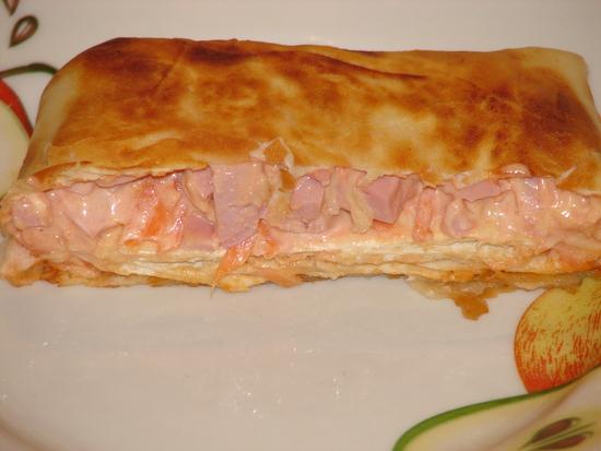 Бутерброды из лаваша на сковороде рецепты пошаговые