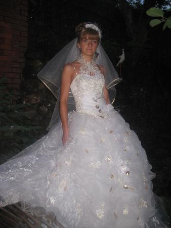 Свадебное платье модель американка.