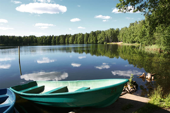 озеро боровое. рыбалка