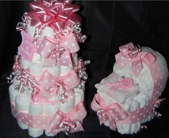 Торт новорожденному своими руками