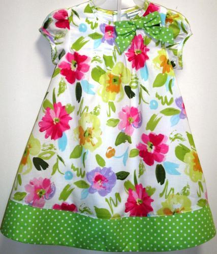 Детское платье из бязи