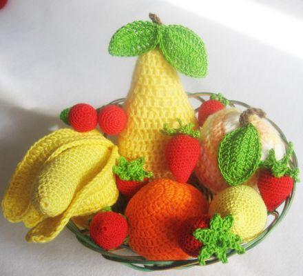 Как связать овощи или фрукты