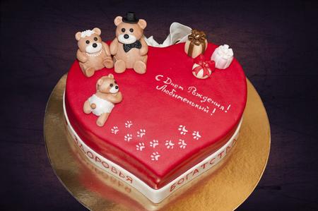 Торт для дня рождения любимого с фото