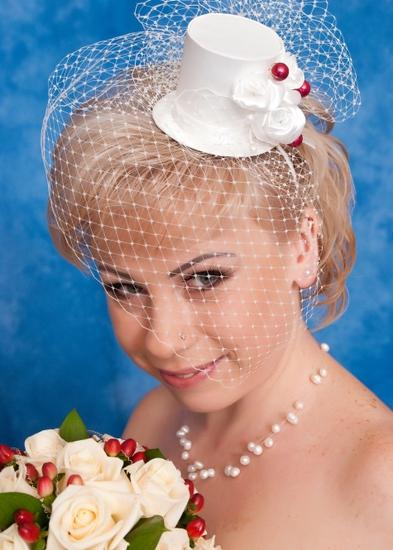 Как сделать шляпку для невесты 688
