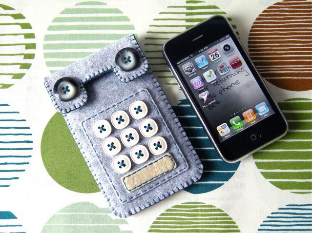 Чехлы для мобильного телефона своими руками