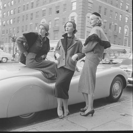 Стиль 50-е. Фото-сайт о моде и стиле.