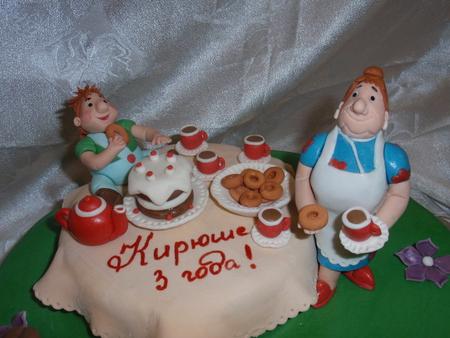 Торт на 1 сентября для мальчиков фото 2